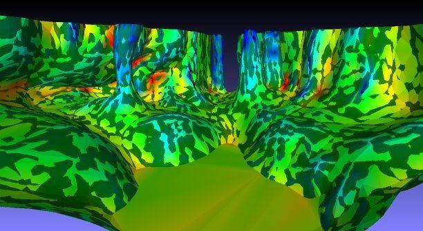 Flood cave - optimize meshl