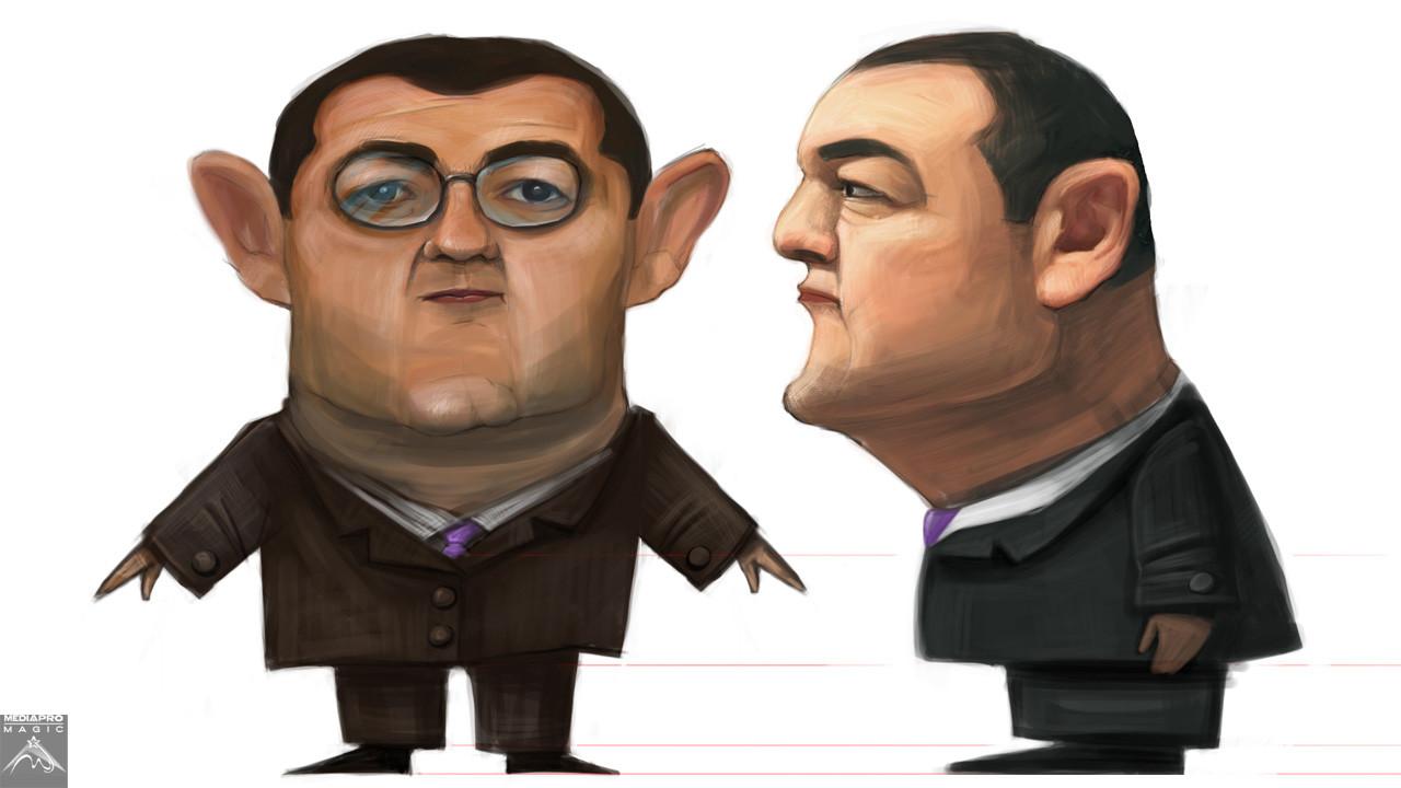 Divertis - character concept - Emil Boc