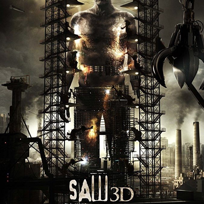 saw 3d, poster