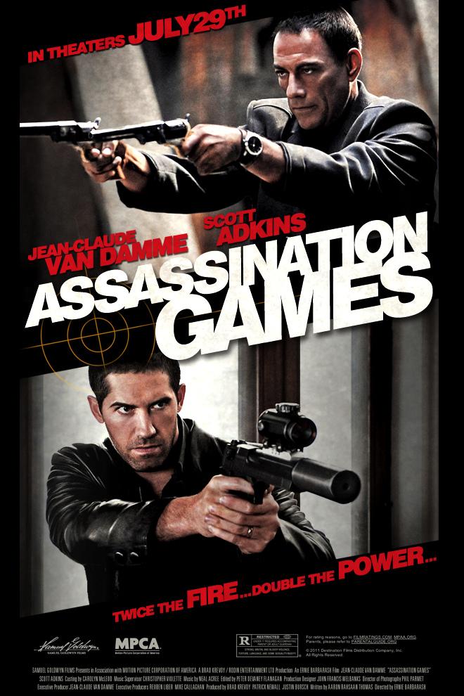 assasination games, poster